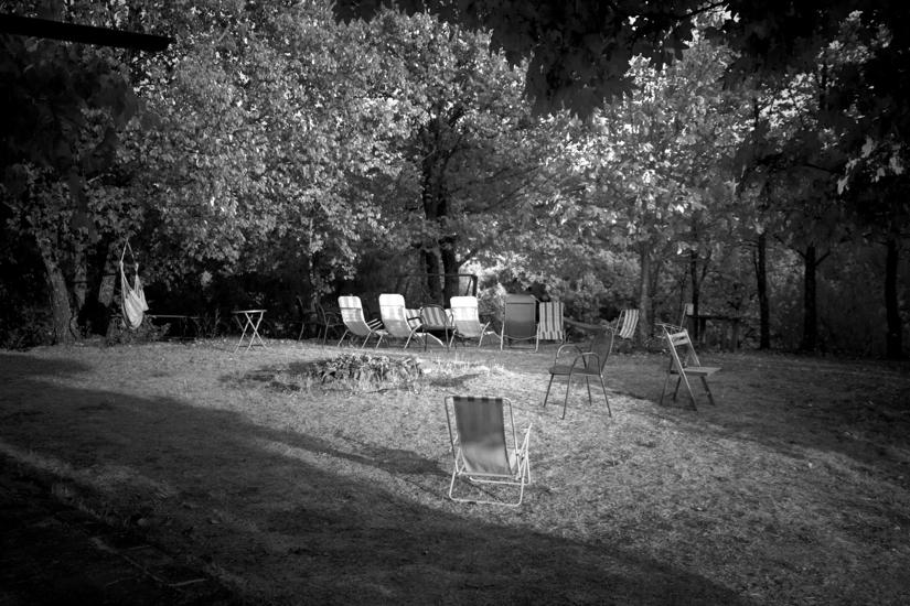il giardino in attesa dei suoi abitanti